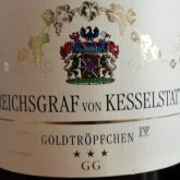 Reichsgraf Von Kesselstatt Riesling Goldtropfchen GG 2014 German White Wine 750 mL