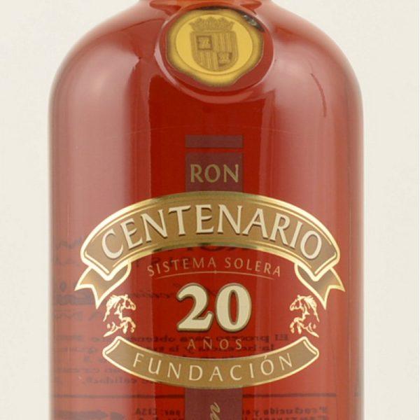 Ron Centenario Fundacion 20 Anos Rum Costa Rica