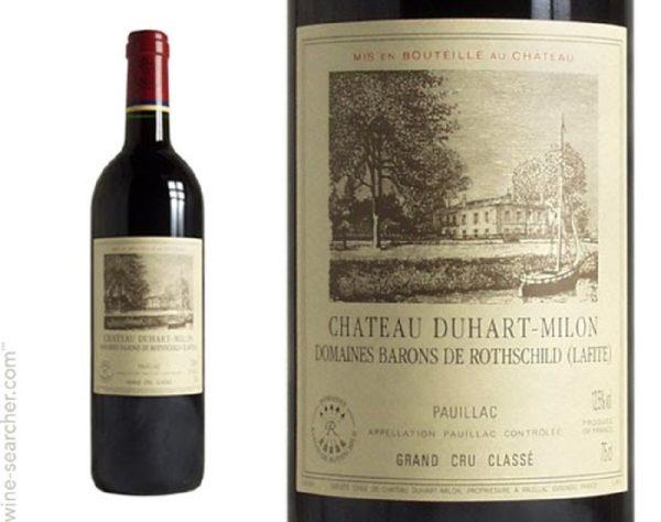Chateau Duhart-Milon Rothschild Pauillac 2003 Red Bordeaux Wine 750 mL