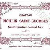 Chateau Moulin St. George St. Emilion 2003 Red Bordeaux Wine