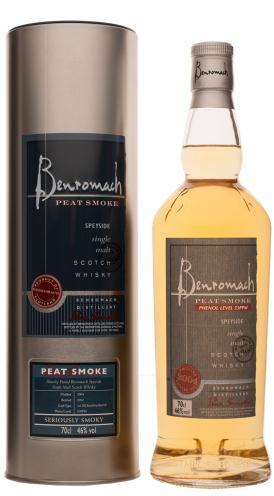 Benromach Peat Smoke Single Malt Highland Scotch Whiskey