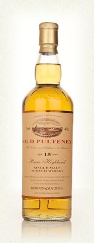 Gordon & MacPhail Old Pulteney 15 Year Old Single Malt Scotch