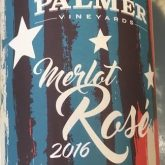 Palmer Vineyards Rose Merlot 2016 Pink Long Island Wine