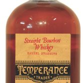 Temperance Trader Barrel Strength Straight Bourbon 117 proof