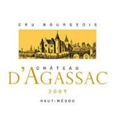 Chateau d'Agassac Haut Medoc 2009 Red Bordeaux Wine
