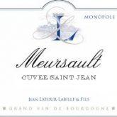 Domaine Vincent Latour Meursault Cuvee Saint Jean 2012 White Burgundy Wine