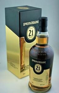 Springbank 21 Year Old Campbeltown Single Malt Scotch