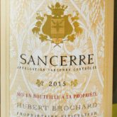 Domaine Brochard Sancerre Tradition French White Wine 750 mL