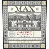 Errazuriz Max Reserva Cabernet Sauvignon Red Chilean Wine 750mL