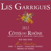 Les Garrigues Cotes du Rhone Red Rhone Wine