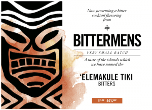 Bittermens 'Elmakule Tiki Aromatic Cocktail Bitters 5 ounce bottle