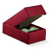 Two Bottle Gift Box Red Bordeaux