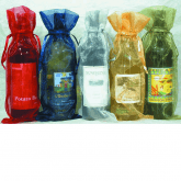One Bottle Gift Bag Organza