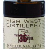High West Distillery 36th Vote Barrel Aged Manhattan