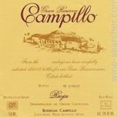 Campillo Rioja Gran Reserva 2004 Red Spanish Wine