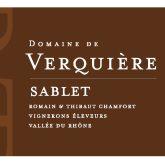 Domaine de Verquiere Sablet Rouge Cotes Du Rhone 2011 Red Rhone Wine