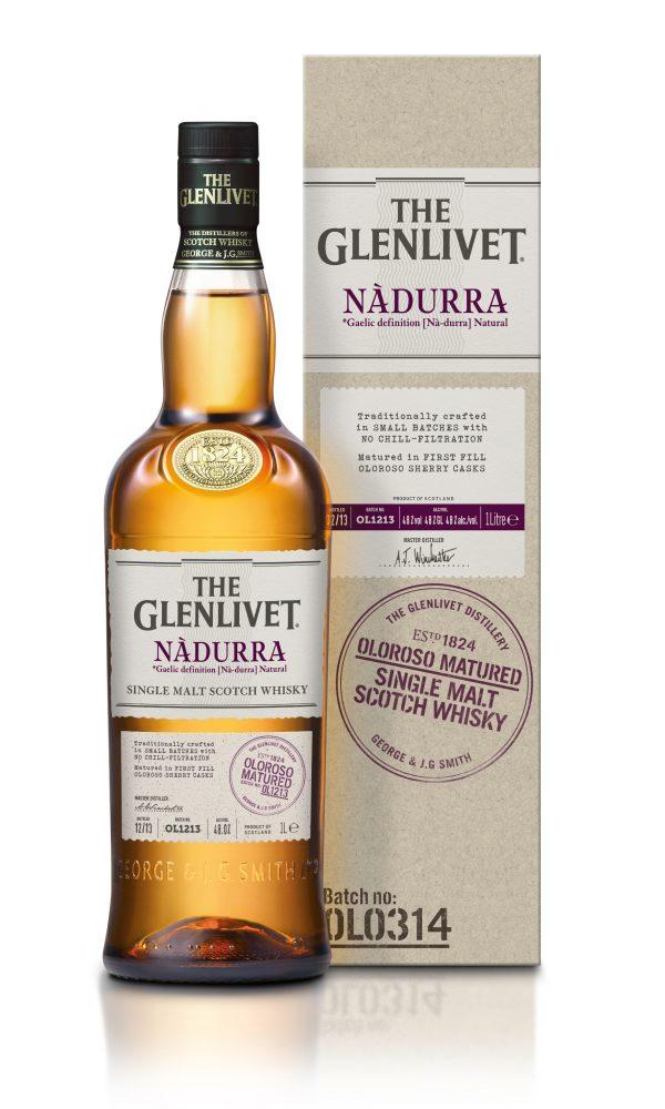 Glenlivet Nadurra Oloroso Matured Single Malt Scotch Whisky 750 mL