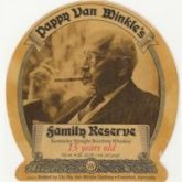 Pappy Van Winkle's Family Reserve 15 Year Old American Bourbon Whiskey