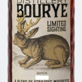 High West Distillery BOURYE Straight Whiskey Bourbon Rye  Blend Park City Utah 750 mL