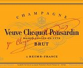 Veuve Clicquot Yellow Label Brut NV French Sparkling Wine