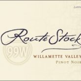 Routestock Route 99W Willamette Valley Pinot Noir 2014 Oregon Red Wine 750mL