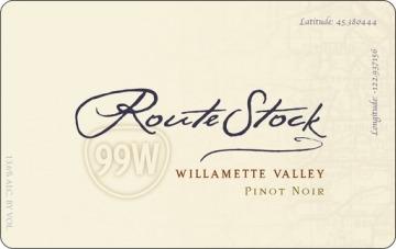 Routestock Route 99W Willamette Valley Pinot Noir 2014 Oregon Red Wine 750mL