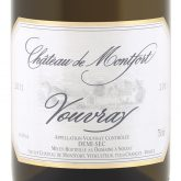 Chateau de Montfort Vouvray Demi-Sec French Loire White Wine