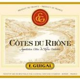 E. Guigal Cotes du Rhone Rouge 2013 French Red Rhone Wine 750 mL